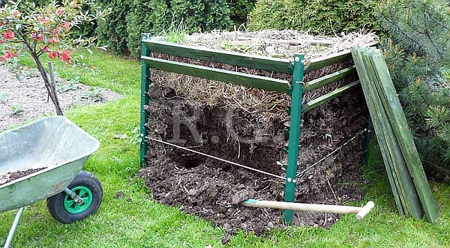 komposter kompostbeh lter kompostsilo 1300 lt. Black Bedroom Furniture Sets. Home Design Ideas