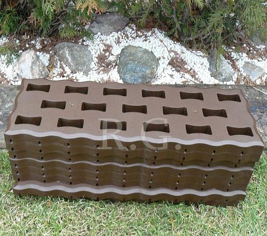 gartenplatten beetplatten bodenplatten gehweg 0 95 qm 4. Black Bedroom Furniture Sets. Home Design Ideas