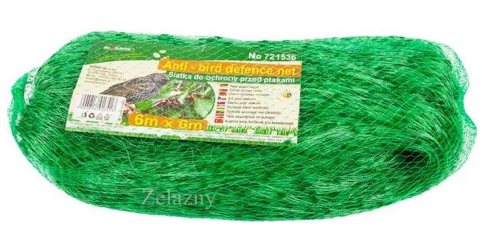 6 x 6m Vogelschutznetz Laubschutznetz Gartennetz Teichnetz
